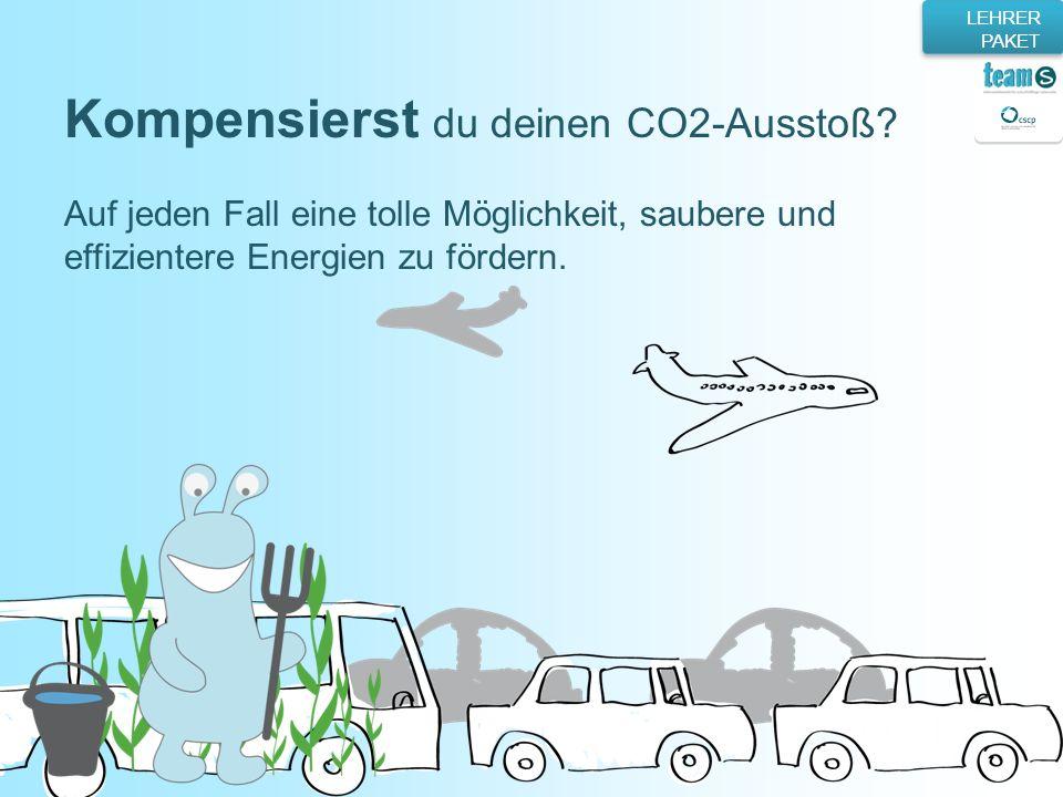 Kompensierst du deinen CO2-Ausstoß