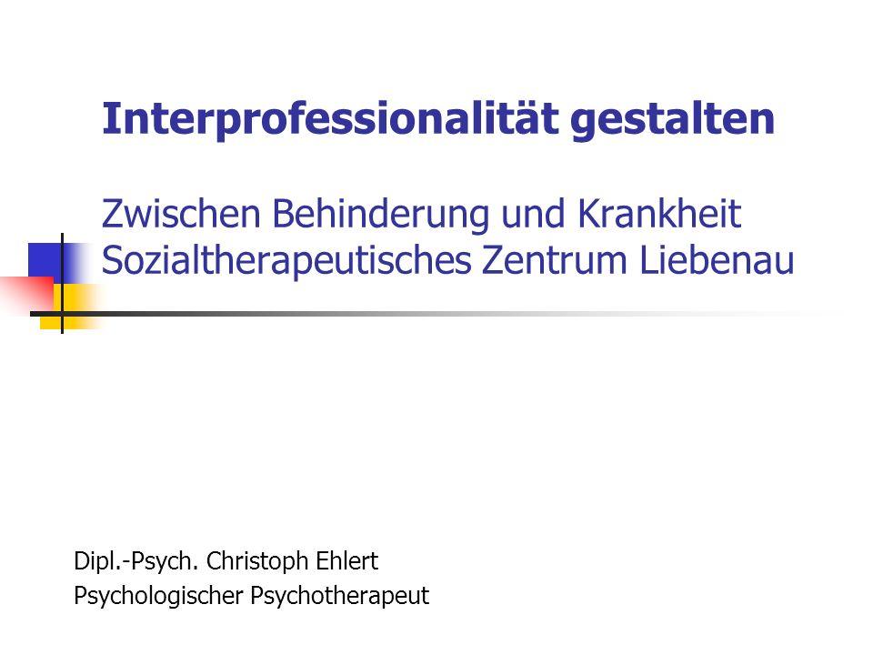 Dipl.-Psych. Christoph Ehlert Psychologischer Psychotherapeut