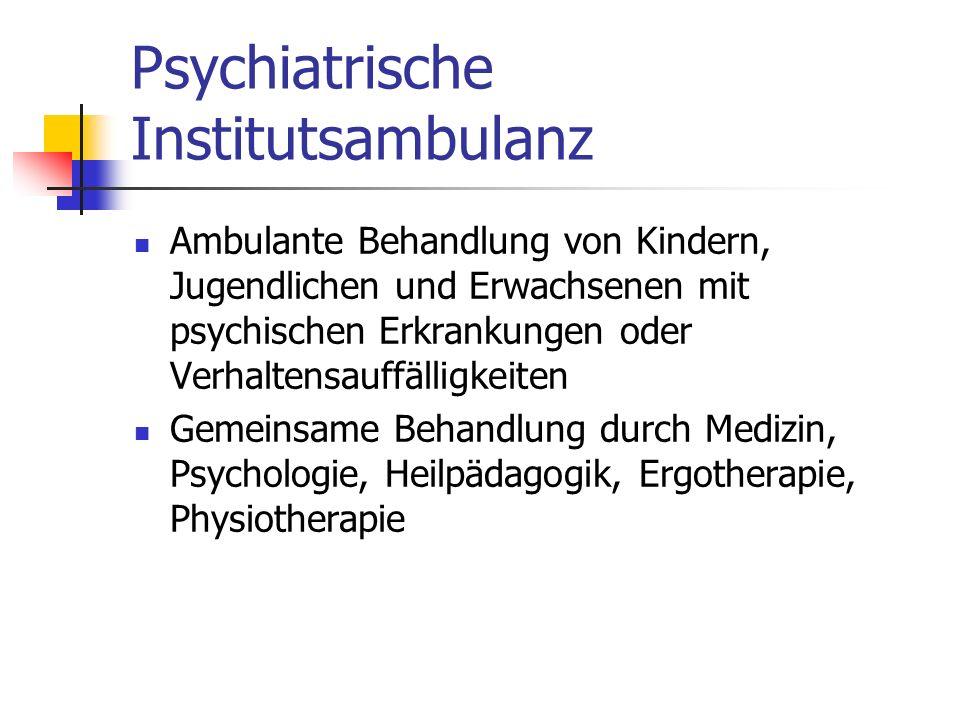 Psychiatrische Institutsambulanz