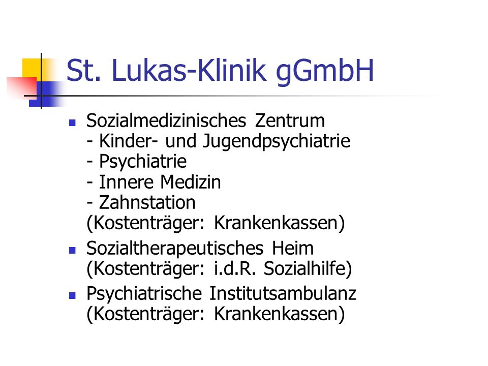 St. Lukas-Klinik gGmbH