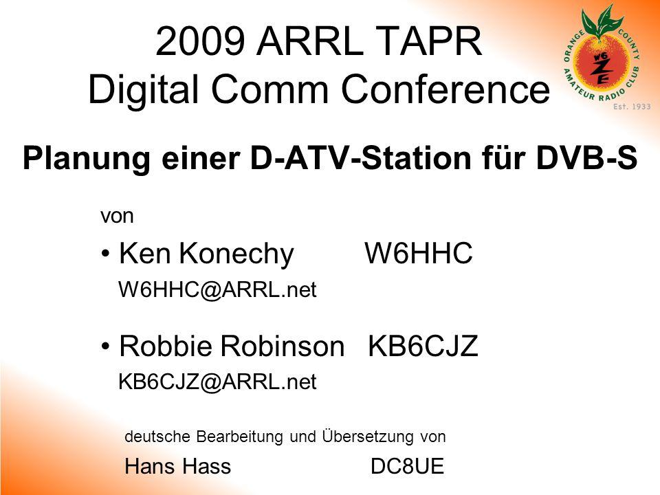 2009 ARRL TAPR Digital Comm Conference