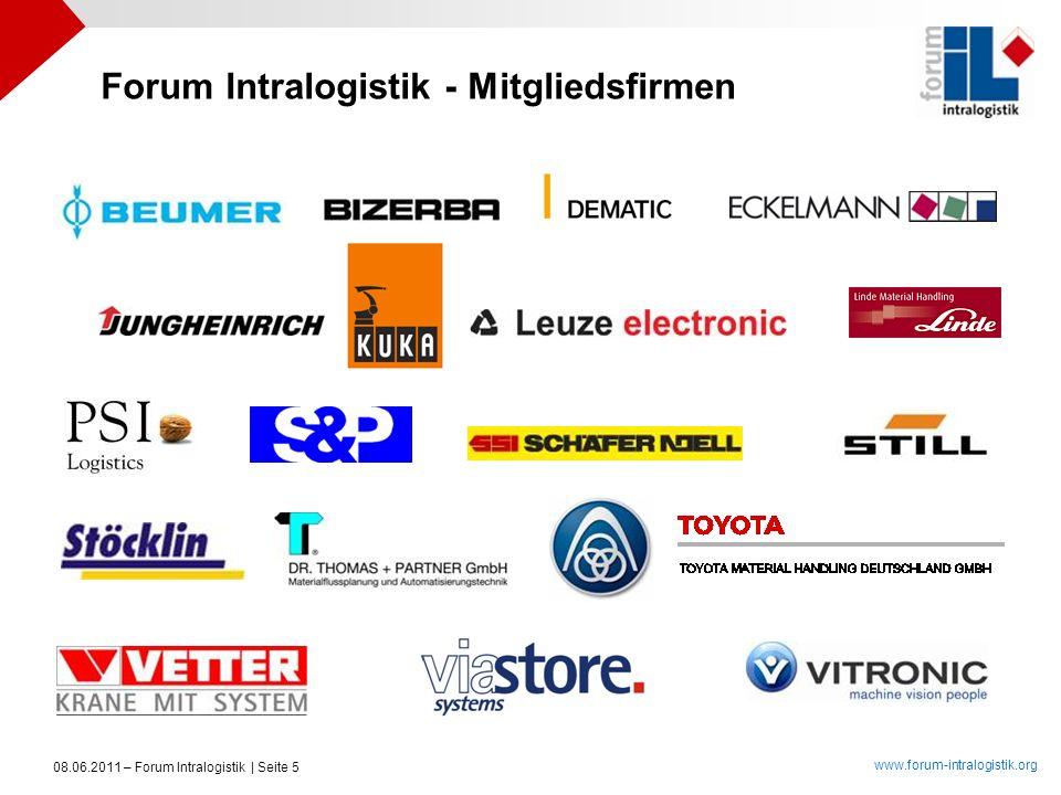 Forum Intralogistik - Mitgliedsfirmen