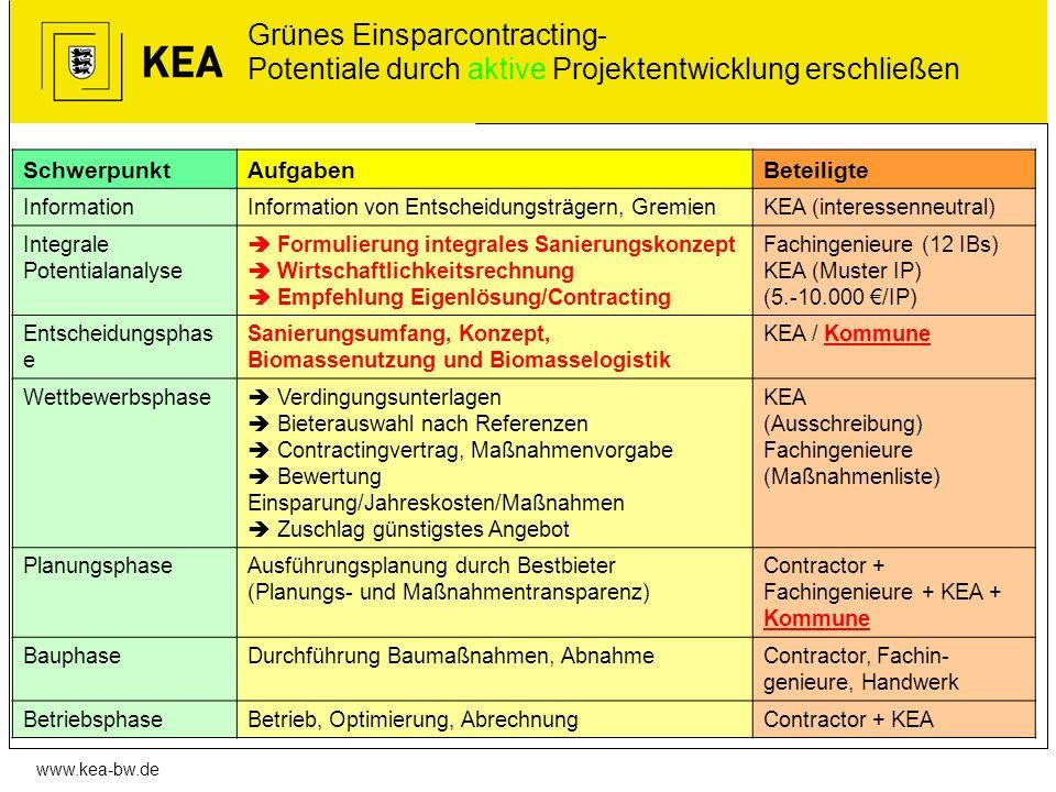 Grünes Einsparcontracting- Potentiale durch aktive Projektentwicklung erschließen