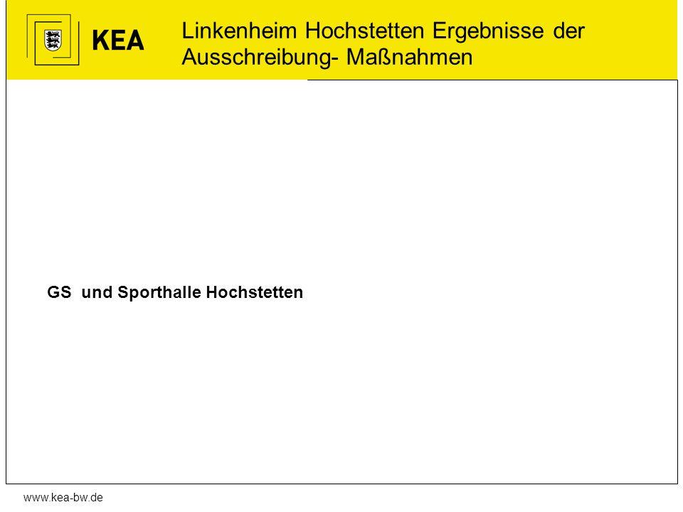 Linkenheim Hochstetten Ergebnisse der Ausschreibung- Maßnahmen