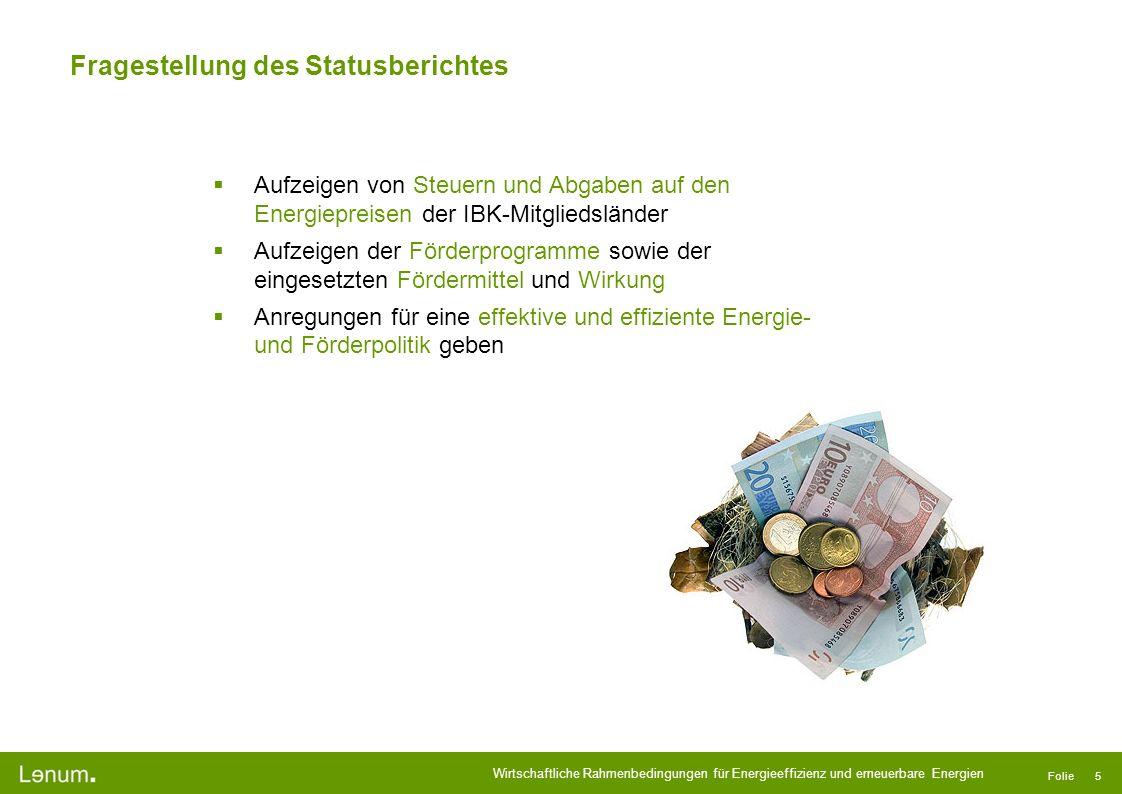 Fragestellung des Statusberichtes