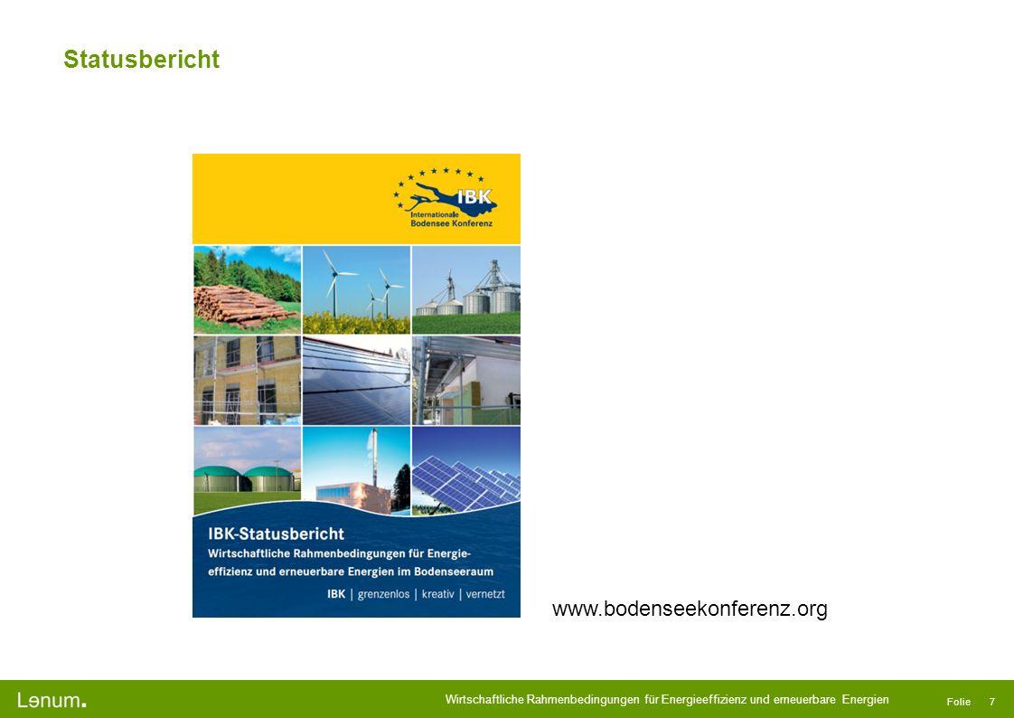 Statusbericht www.bodenseekonferenz.org