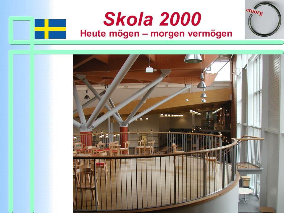 Einige Bilder. Hier von einer neugebauten Skola 2000.