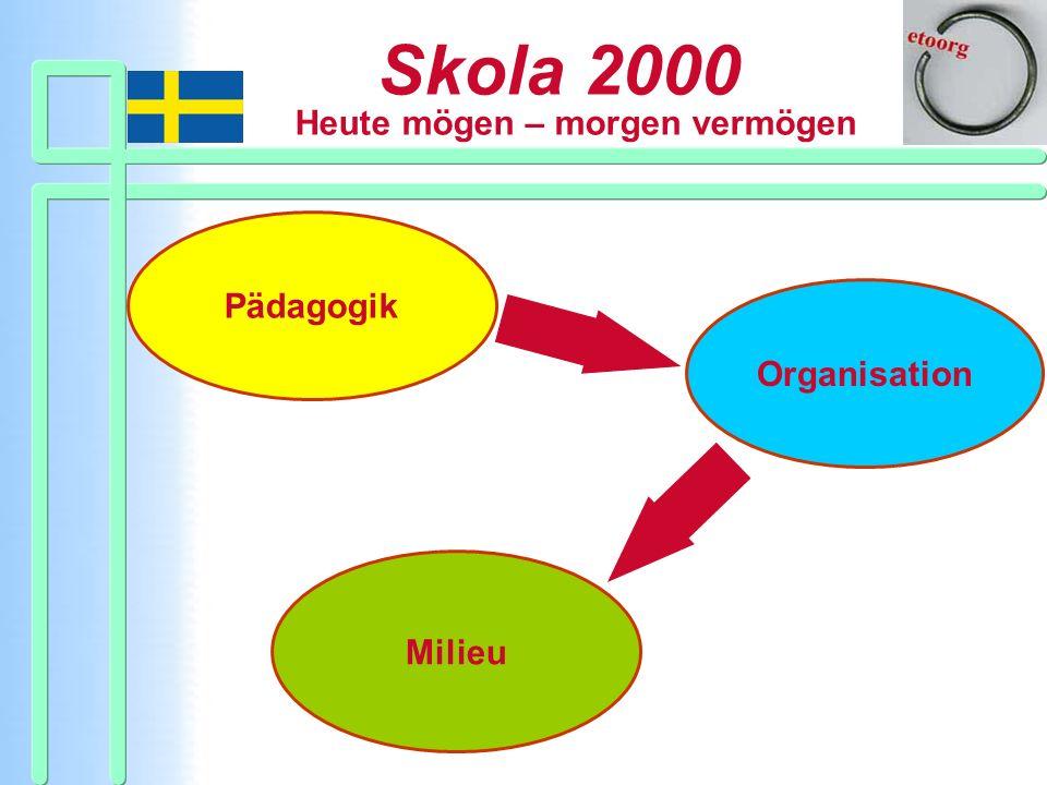Pädagogik Organisation Milieu