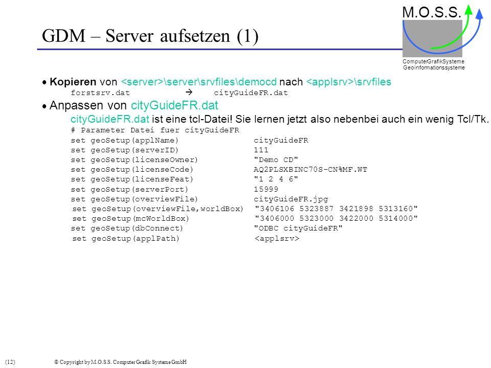 GDM – Server aufsetzen (1)