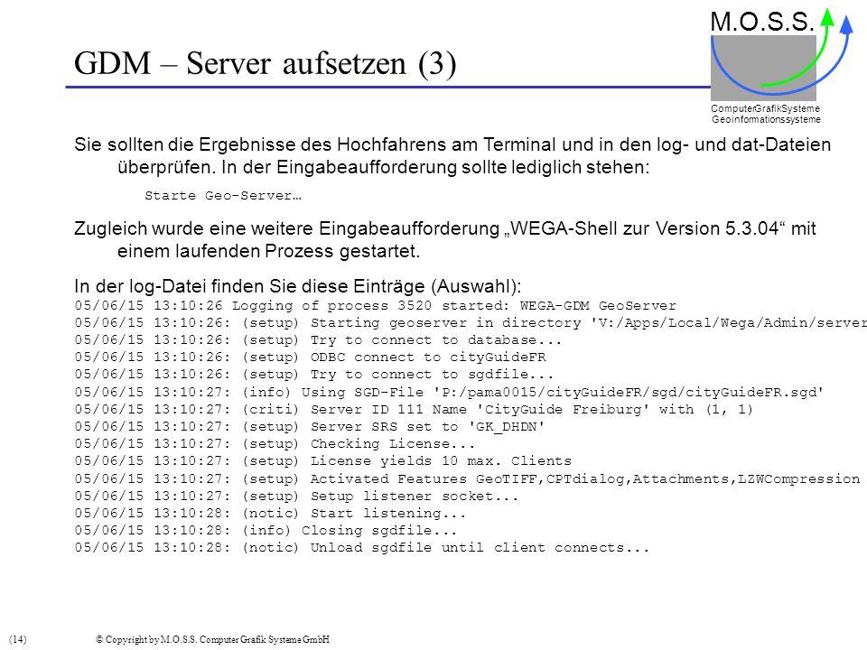 GDM – Server aufsetzen (3)