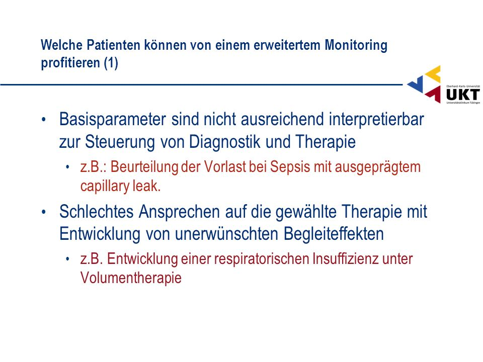 Welche Patienten können von einem erweitertem Monitoring profitieren (1)
