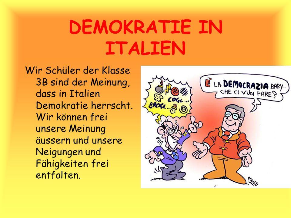 DEMOKRATIE IN ITALIEN