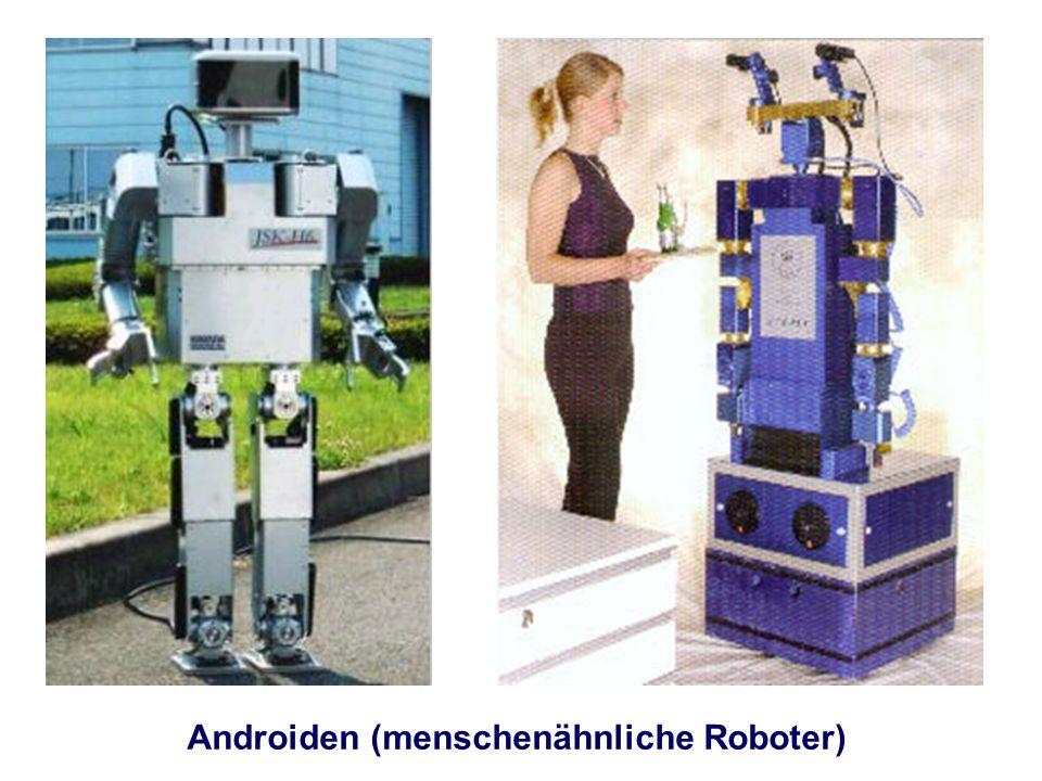 Androiden (menschenähnliche Roboter)