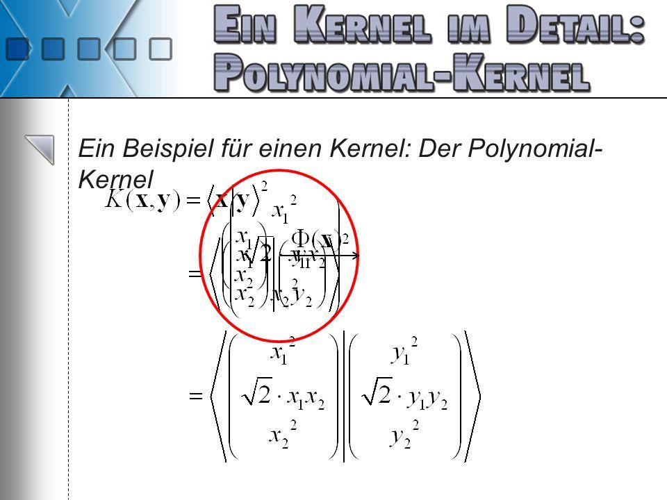 Ein Beispiel für einen Kernel: Der Polynomial-Kernel