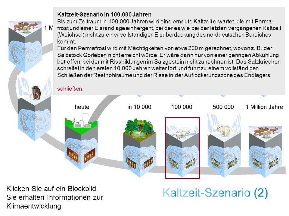 Kaltzeit-Szenario in 100.000 Jahren