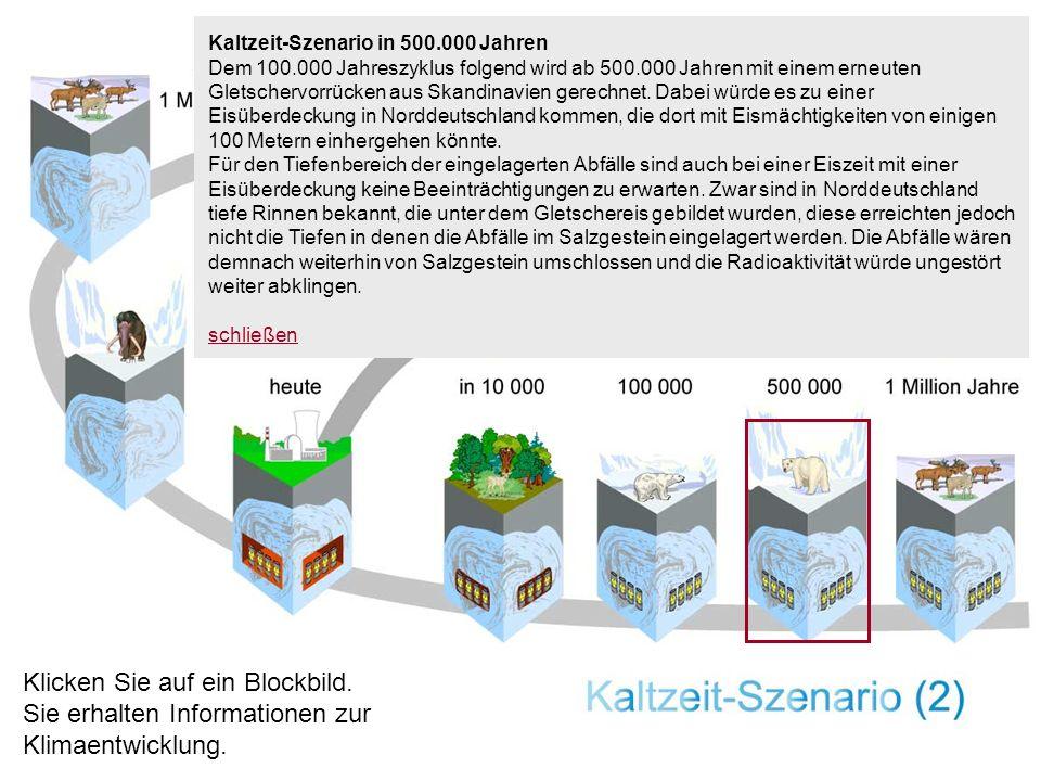 Kaltzeit-Szenario in 500.000 Jahren