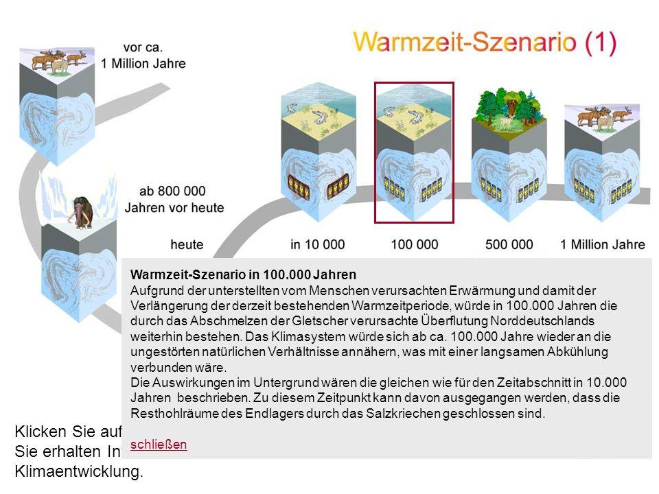 Warmzeit-Szenario in 100.000 Jahren