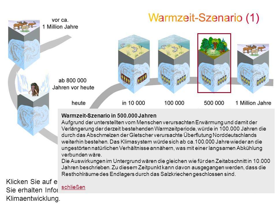 Warmzeit-Szenario in 500.000 Jahren