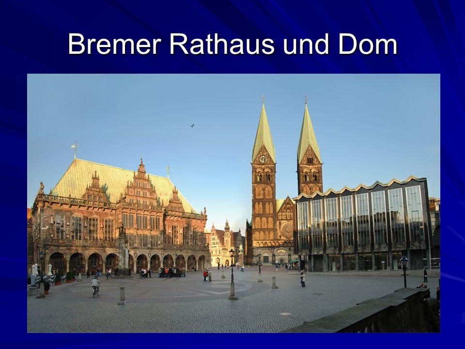 Bremer Rathaus und Dom