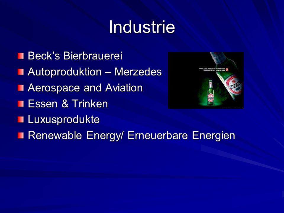 Industrie Beck's Bierbrauerei Autoproduktion – Merzedes