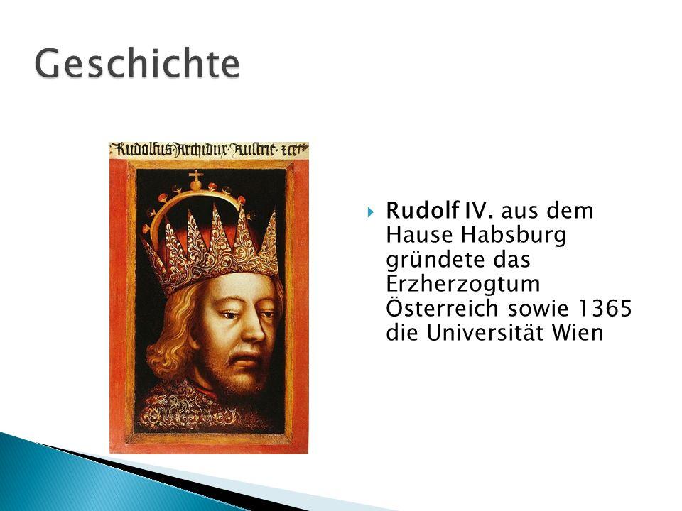 Geschichte Rudolf IV.