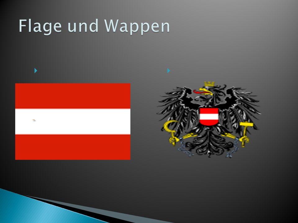 Flage und Wappen