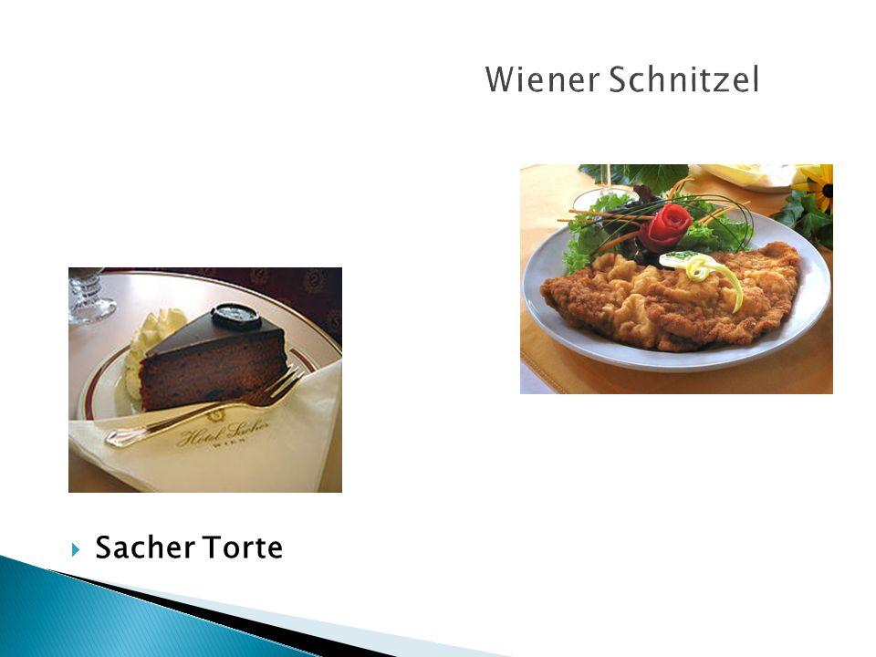 Wiener Schnitzel Sacher Torte