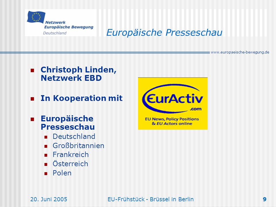 Europäische Presseschau