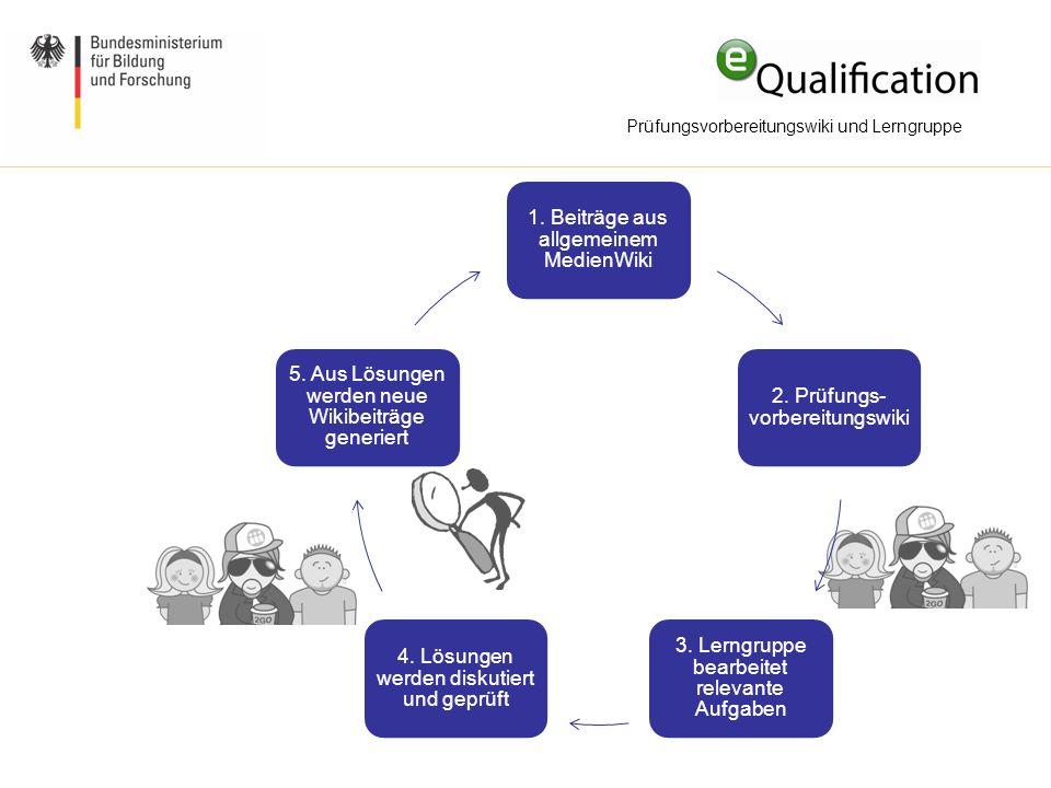 Prüfungsvorbereitungswiki und Lerngruppe