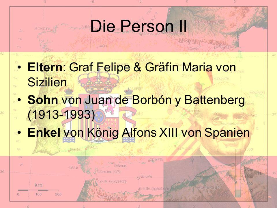 Die Person II Eltern: Graf Felipe & Gräfin Maria von Sizilien