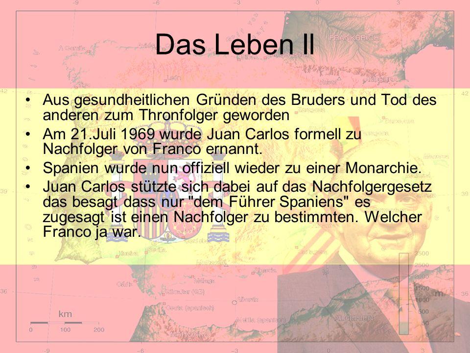 Das Leben IlAus gesundheitlichen Gründen des Bruders und Tod des anderen zum Thronfolger geworden.