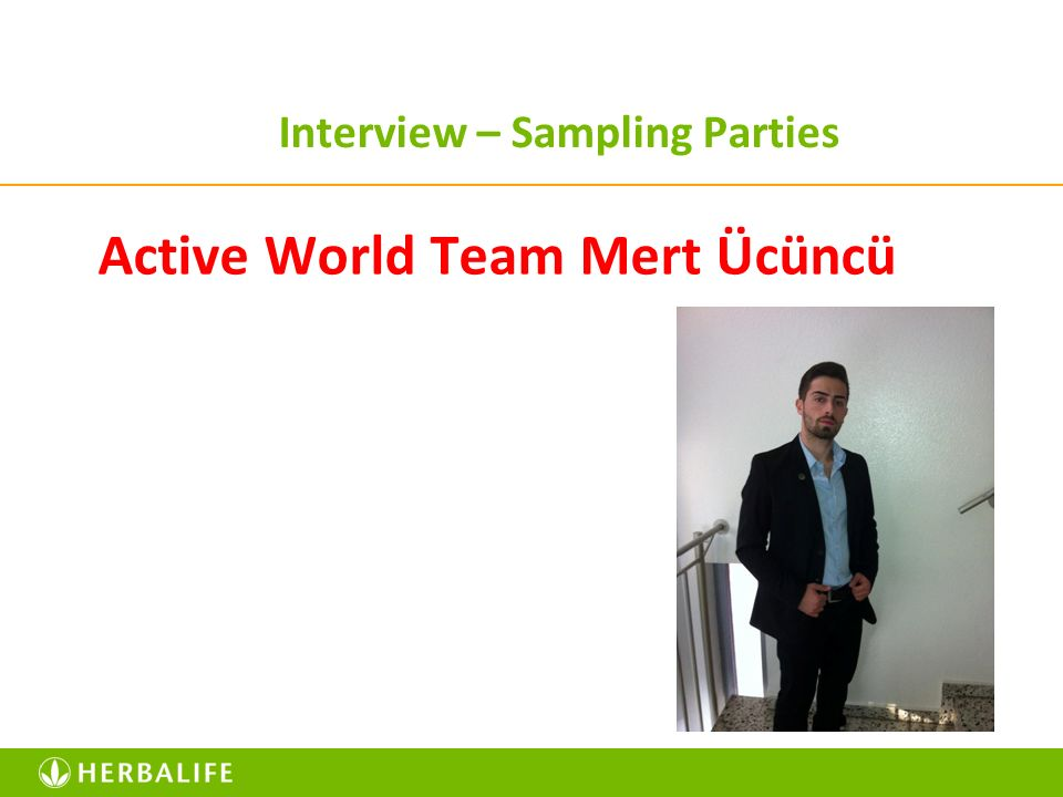 Interview – Sampling Parties