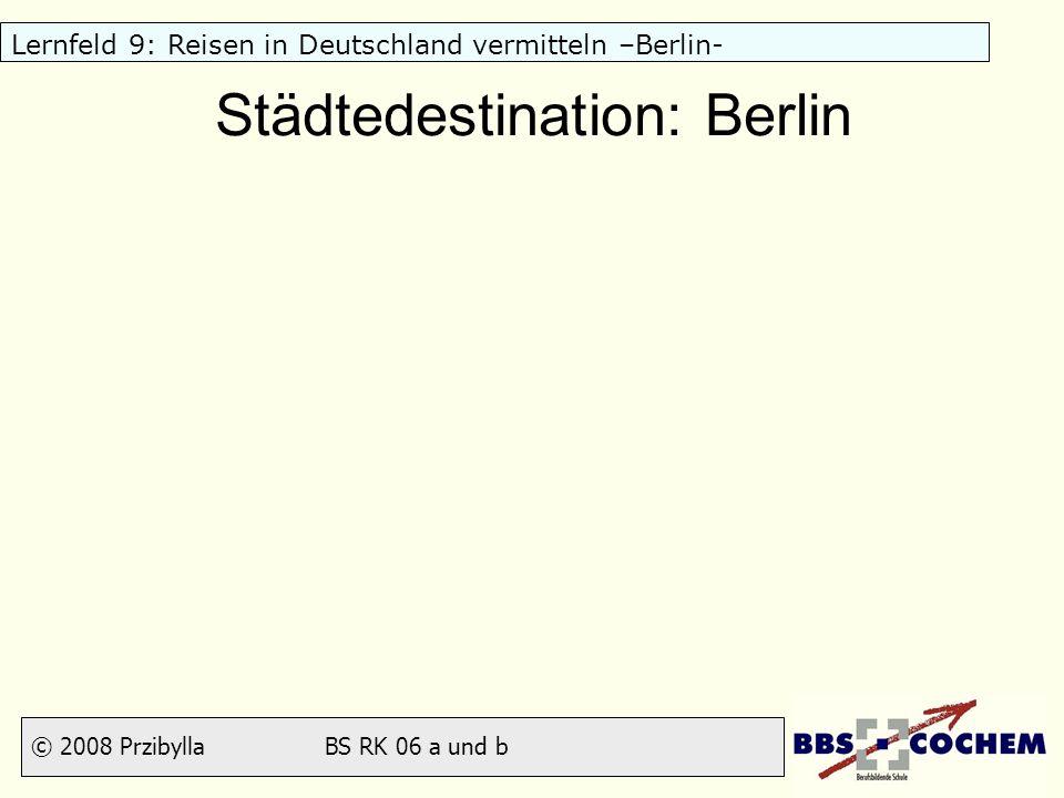 Städtedestination: Berlin