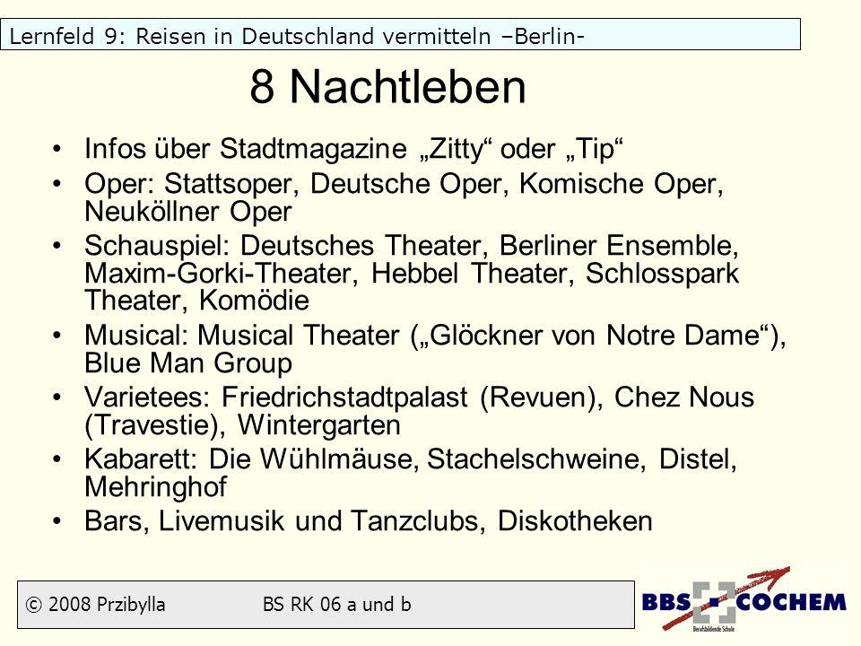 """8 Nachtleben Infos über Stadtmagazine """"Zitty oder """"Tip"""