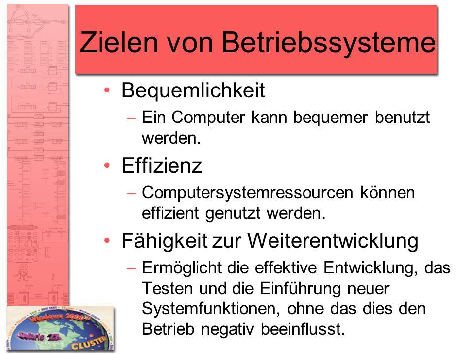 Zielen von Betriebssysteme