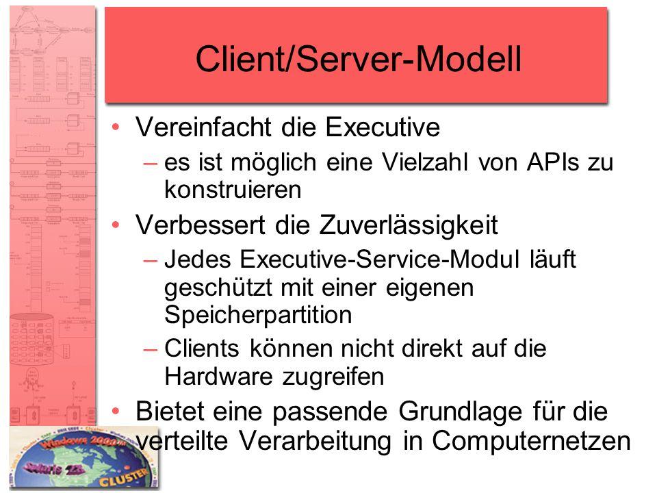 Client/Server-Modell