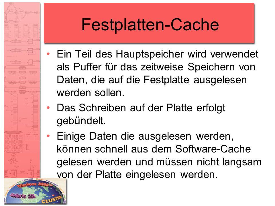 Festplatten-Cache