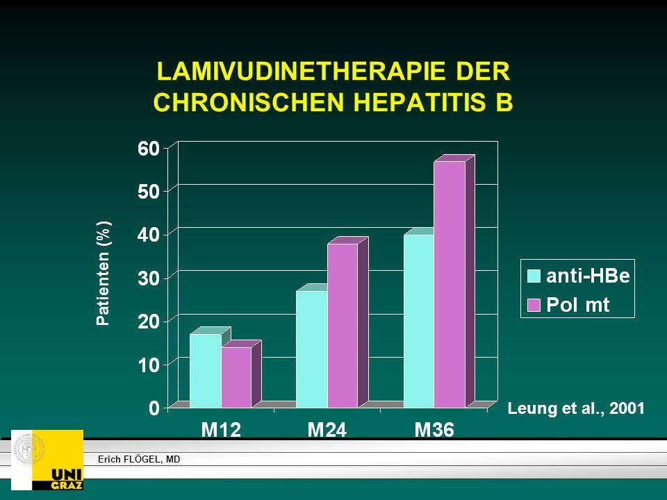 LAMIVUDINETHERAPIE DER CHRONISCHEN HEPATITIS B