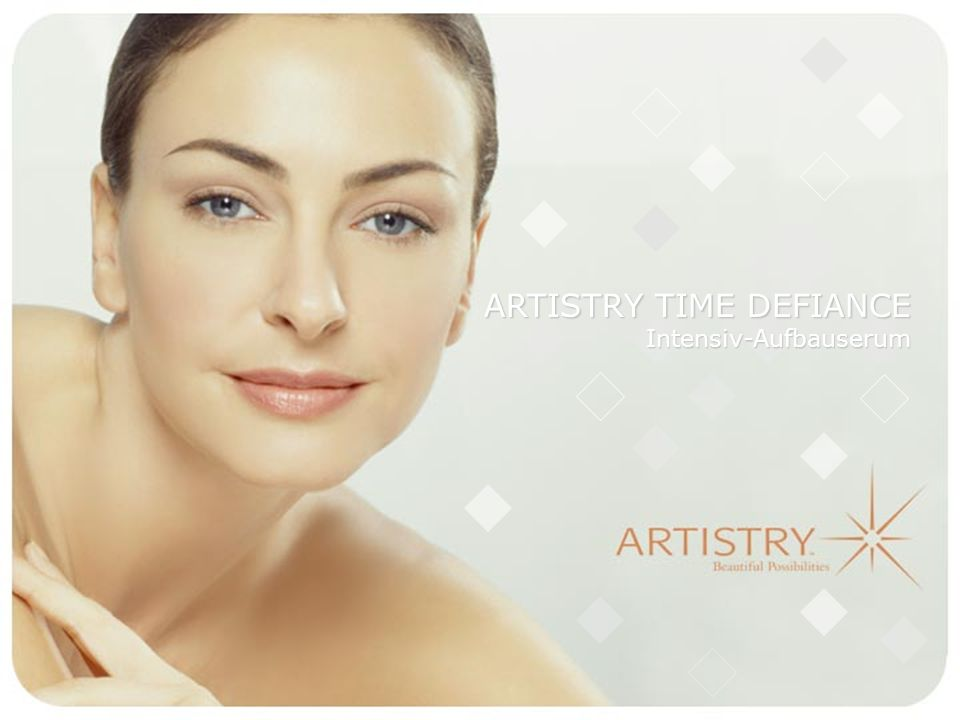ARTISTRY TIME DEFIANCE Intensiv-Aufbauserum
