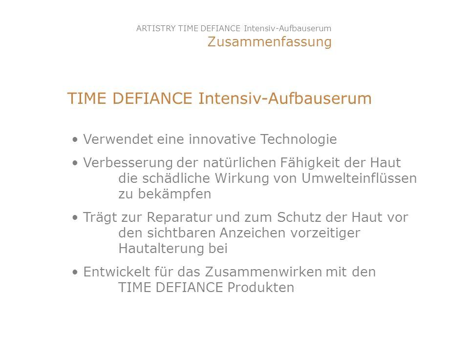 TIME DEFIANCE Intensiv-Aufbauserum