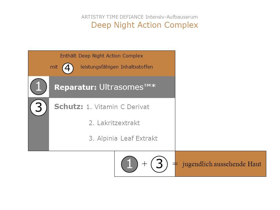 1 3 1 3 4 + = Deep Night Action Complex Reparatur: Ultrasomes™*