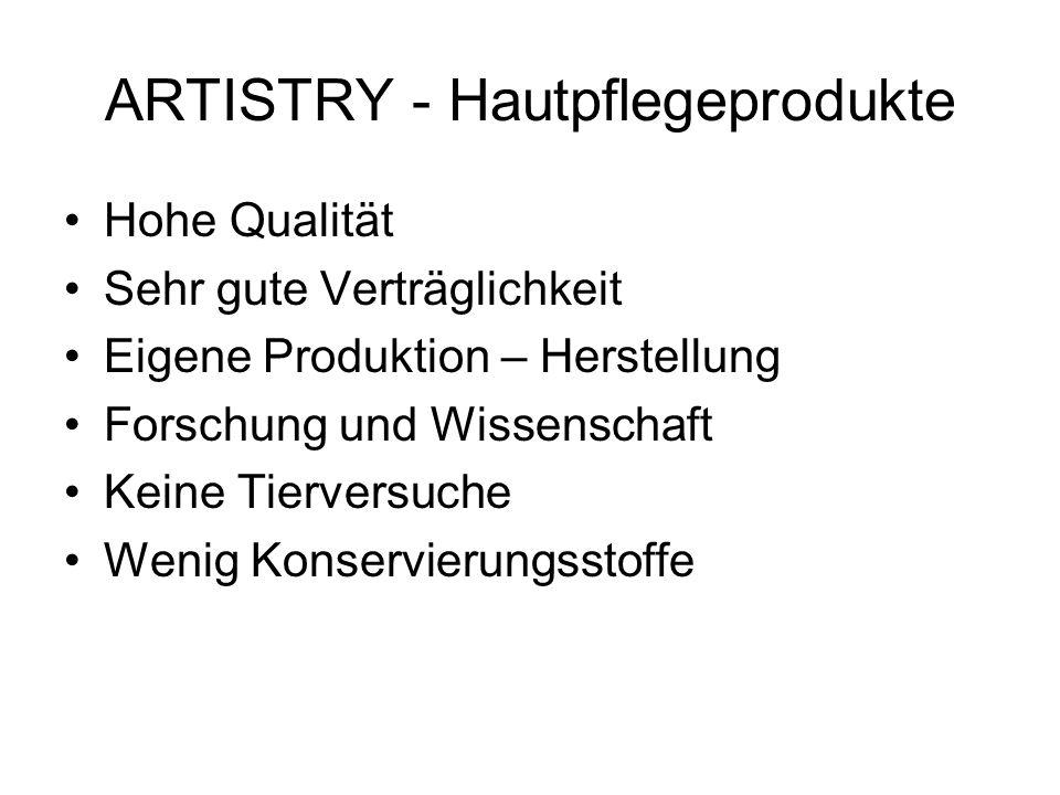 ARTISTRY - Hautpflegeprodukte