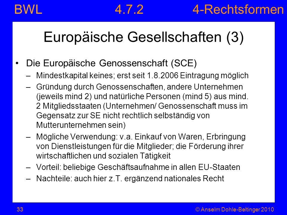 Europäische Gesellschaften (3)