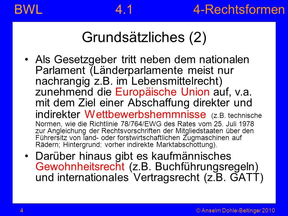 4.1 Grundsätzliches (2)