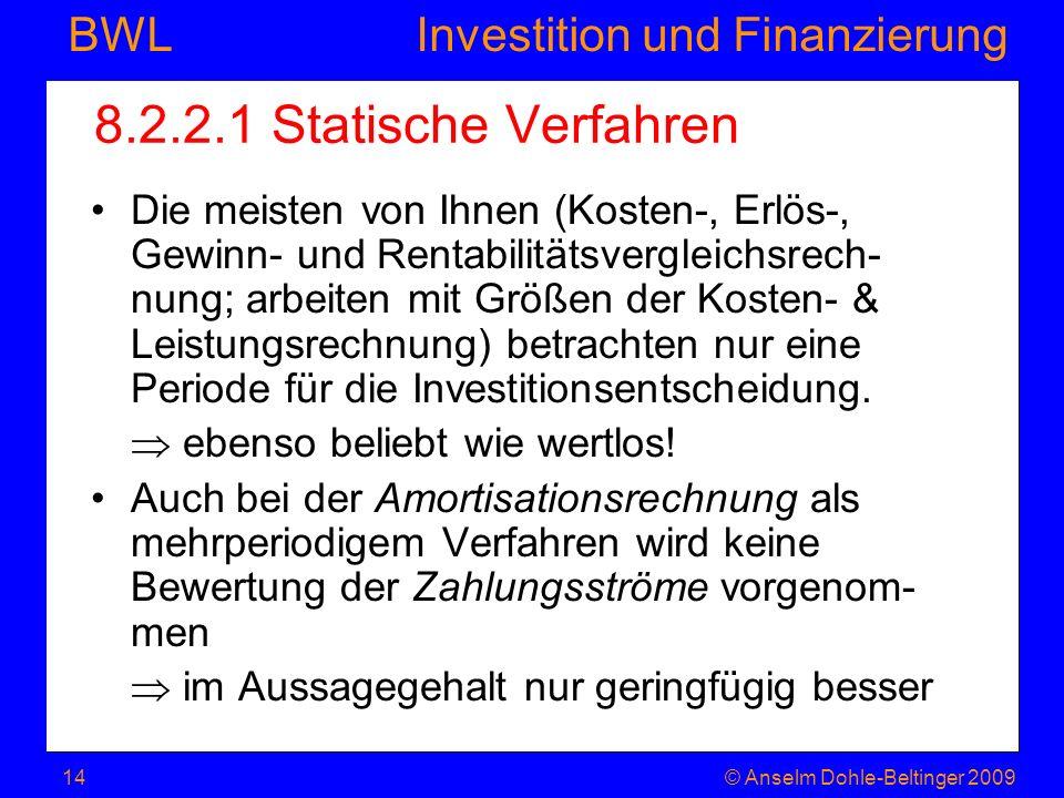8.2.2.1 Statische Verfahren