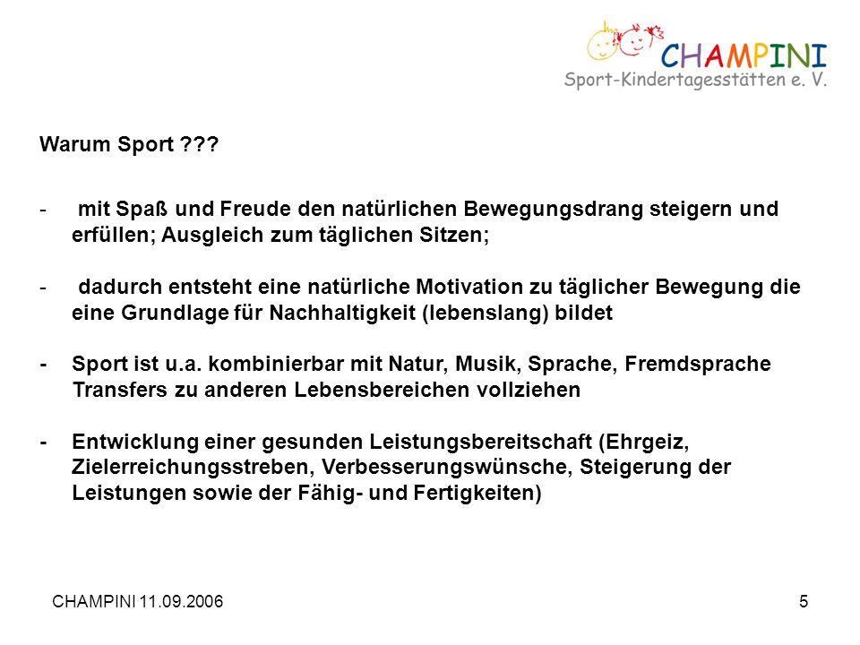 - Sport ist u.a. kombinierbar mit Natur, Musik, Sprache, Fremdsprache