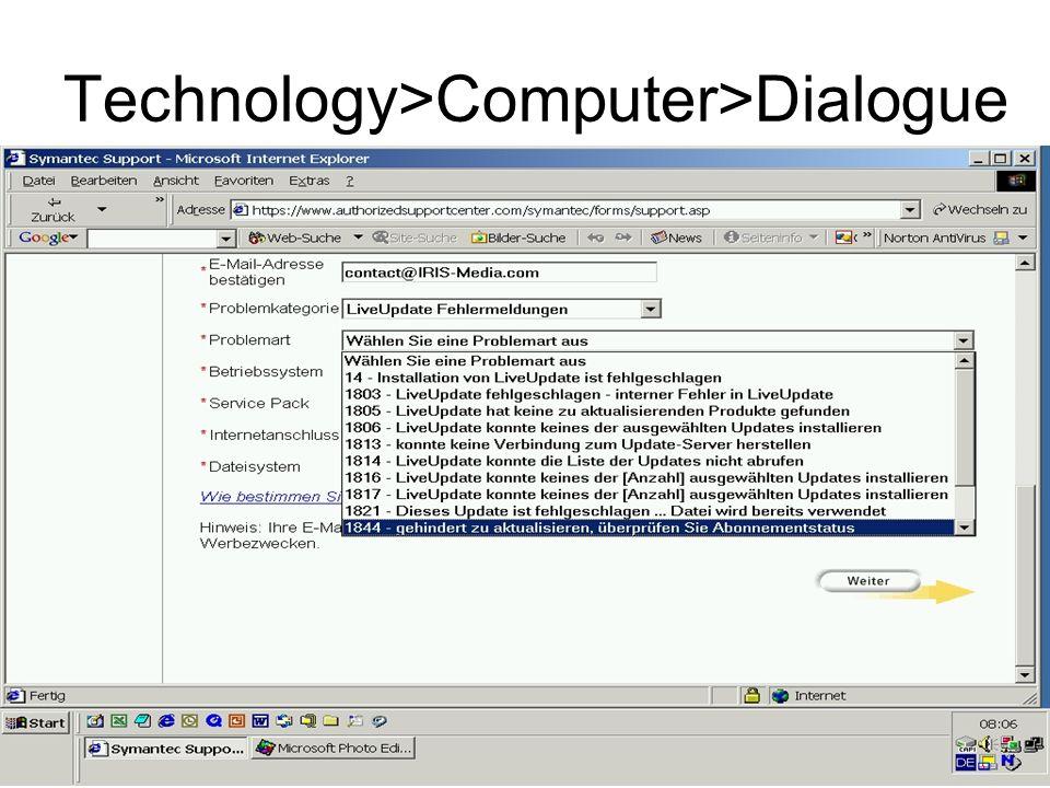 Technology>Computer>Dialogue