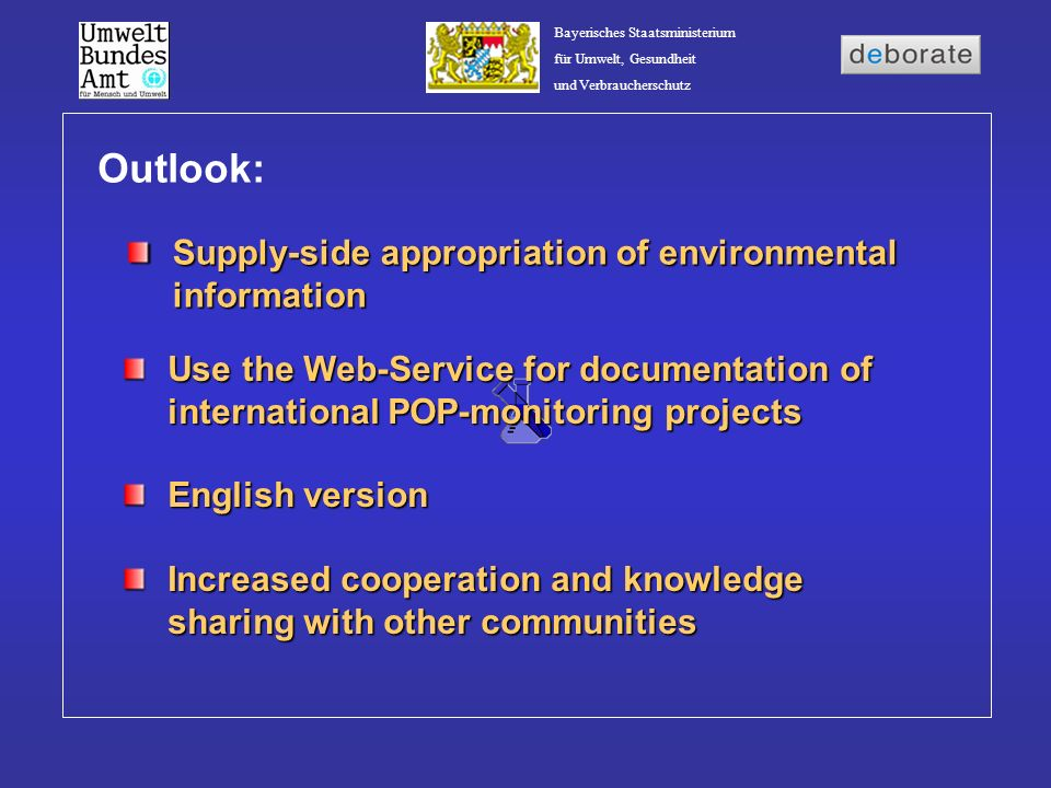 Outlook: Supply-side appropriation of environmental information