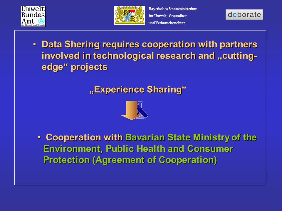 "Data Shering requires cooperation with partners involved in technological research and ""cutting-edge projects"