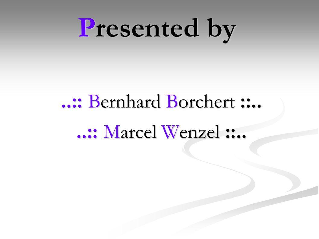 ..:: Bernhard Borchert ::..